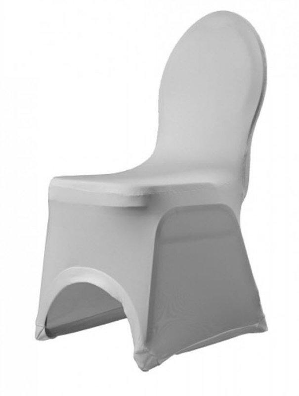 Чехол для стула стретч, белый