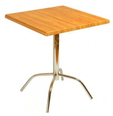 Стол квадратный, 60х60 см, орех
